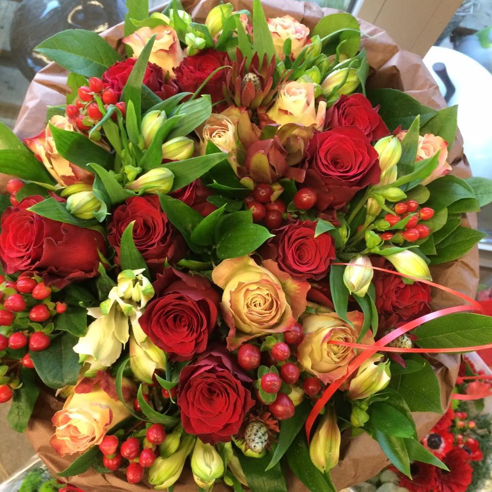 Bloemenwinkel in de buurt van Aalst; voor prachtige boeketten