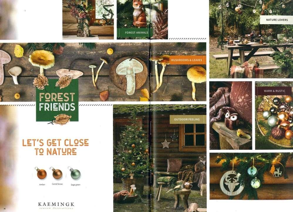 Kerstthema Forest Friends Tuincentrum Vincent