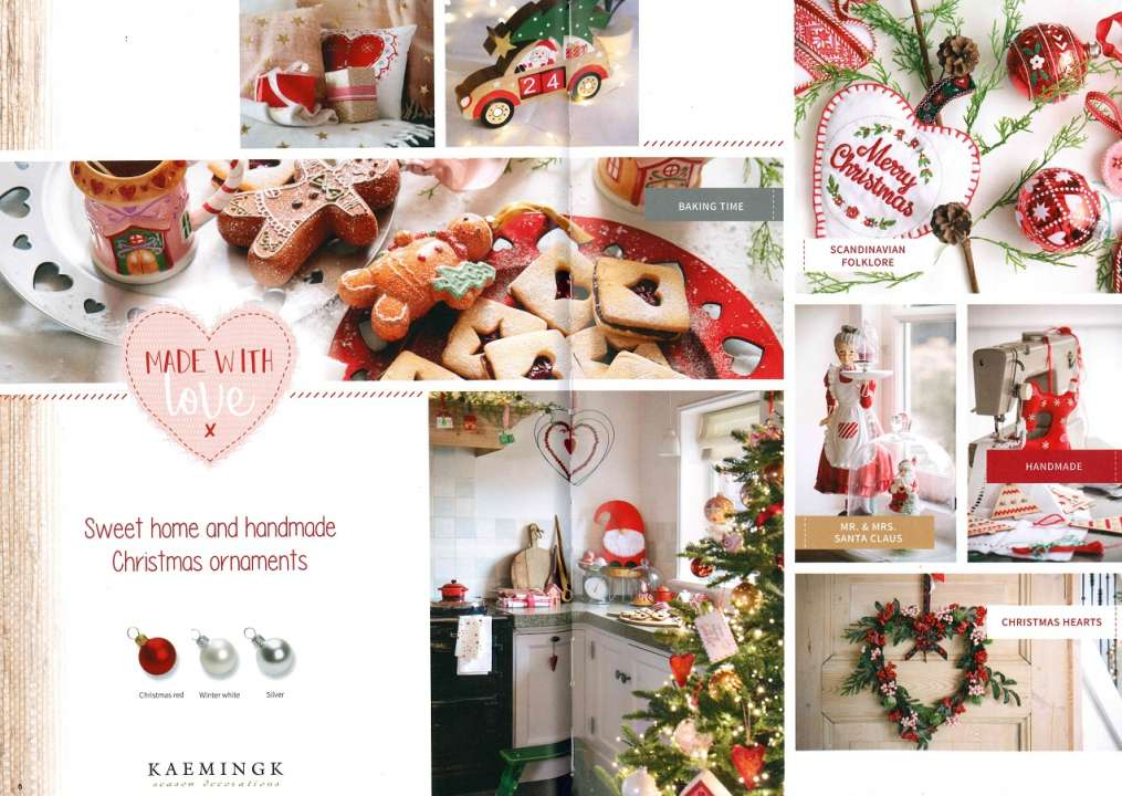 Kerstthema Made with Love