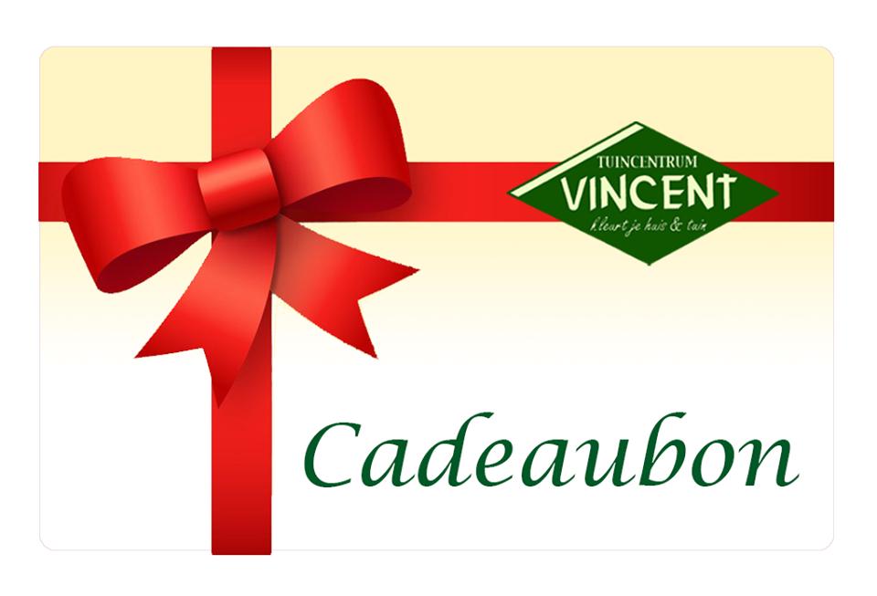 Een cadeaubon van Tuincenter Vincent