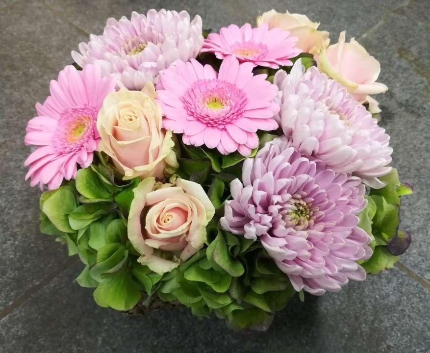Prachtig boeket snijbloemen