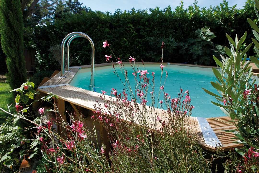 Ubbink houten zwembad - Tuincentrum Vincent