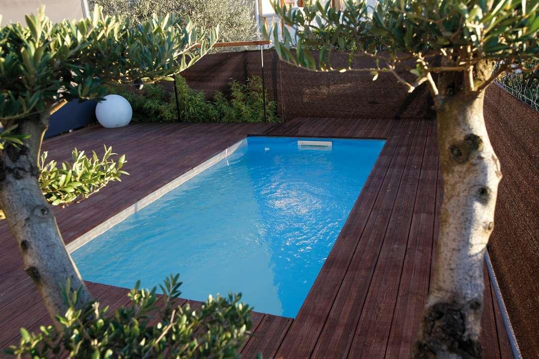 Zwembad van hout Ubbink