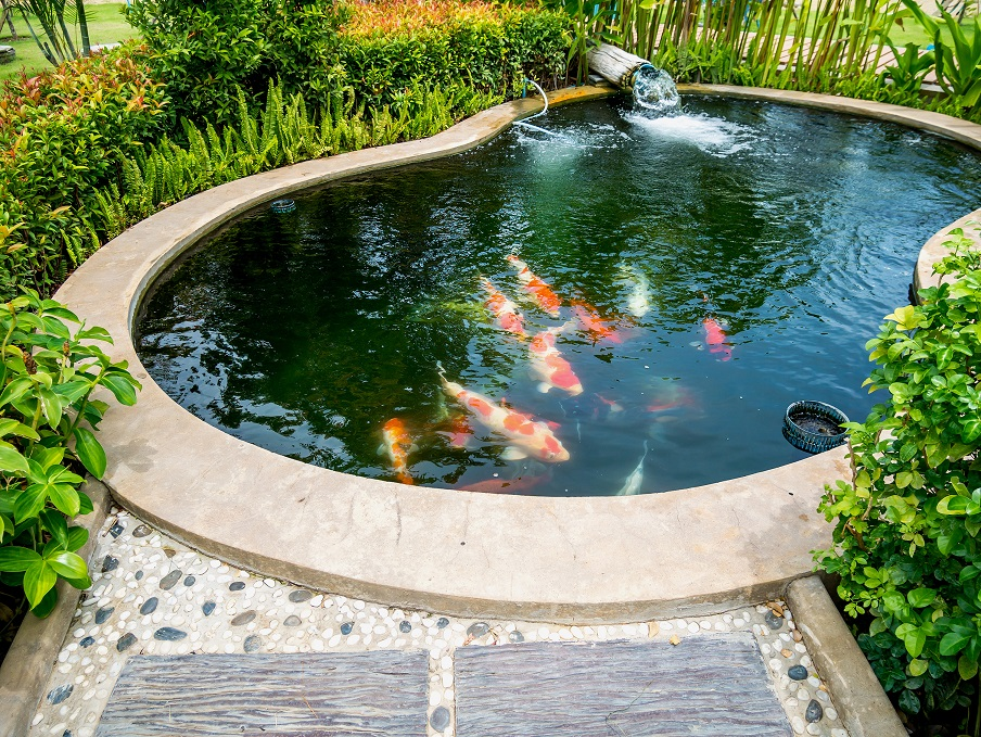 lavasteen vijver tuincentrum vincent